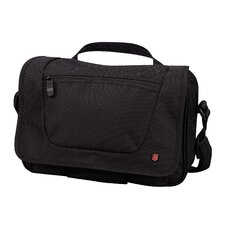 Lifestyle Accessories 3.0 Adventure Traveler Over-The-Shoulder Day Bag in Black