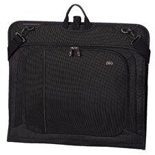 Werks Traveler™ 4.0 Slim Garment Bag with Carrying Strap in Black