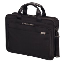 "Architecture® 3.0 Wainwright 15"" Slimline Laptop Brief in Black"