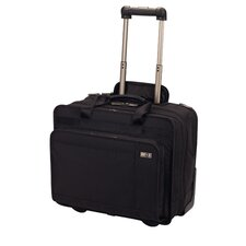 "Architecture® 3.0 Rolling Parliament 17"" Expandable Wheeled Laptop Case in Black"