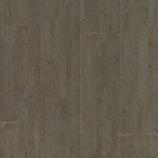 "Almada Fila 4-1/8"" Engineered Locking Cork Flooring in Cinza"