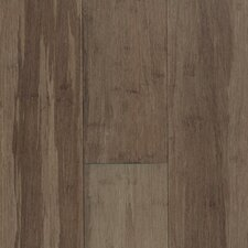 "Natural Bamboo Expressions 5-1/4"" Solid Locking Strand Woven Bamboo Flooring in River Rock"