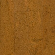 "Almada Nevoa 4-1/8"" Engineered Locking Cork Flooring in Cobre"
