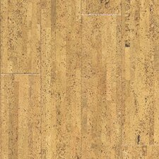 "Almada Fila 4-1/8"" Engineered Locking Cork Flooring in Natural"