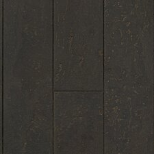 "Natural Cork New Earth Corona 4-1/8"" Engineered Locking Cork Flooring in Cinzento"