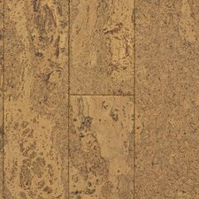 "Natural Cork New Earth Corona 4-1/8"" Engineered Locking Cork Flooring in Cera"