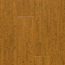 "Almada Marcas 4-1/8"" Engineered Locking Cork Flooring in Cobre"