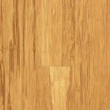 "Natural Bamboo Expressions 5-1/4"" Solid Locking Strand Woven Bamboo Flooring in Natural"