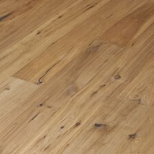 "Navarre 7-1/2"" Smooth Rustic Engineered Oak Flooring in Toulouse"