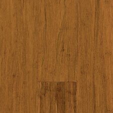 "Natural Bamboo 3-3/4"" Engineered Strand Woven Bamboo Flooring in Spice"