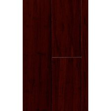 """Natural Bamboo Expressions 5-1/4"""" Solid Bamboo Flooring in Handscraped Rich Earth"""
