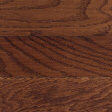 "Congress 5"" Solid Hardwood Oak Flooring in Burgundy"