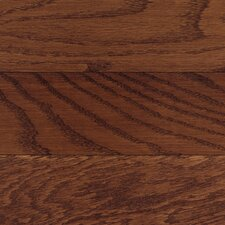 "<strong>Columbia Flooring</strong> Washington 3-1/4"" Solid Hardwood Oak Flooring in Burgundy"