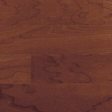 "Morton 5"" Engineered Hardwood Cherry Flooring in Black"