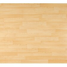 <strong>Columbia Flooring</strong> Clic Xtra 8mm 2-Strip Maple Laminate in Aspenwal Maple