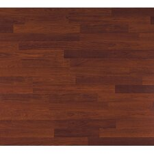 Clic Xtra 8mm 2-Strip Cherry Laminate in Brickstone Cherry