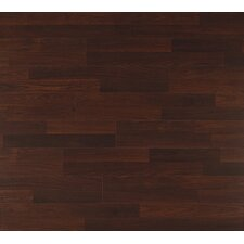 Clic Xtra 8mm 2-Strip Walnut Laminate in Riverbed Walnut