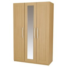Visualise Shaker 3 Door Wardrobe with Mirror