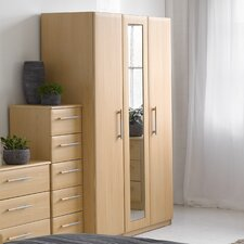 Visualise Awake 3 Door Wardrobe