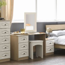 Visualise Bordeaux Dressing Table Set