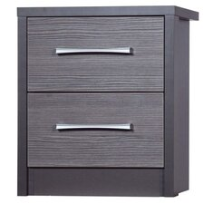 Avola 2 Drawer Bedside Table