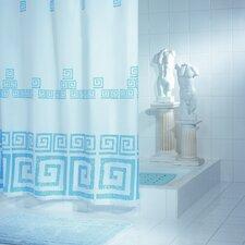 """Duschvorhang """"Athen"""" in Blau"""