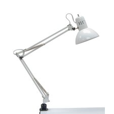 "Swing Arm 36"" H Table Lamp with Bowl Shade"