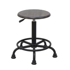 Retro Height Adjustable Stool