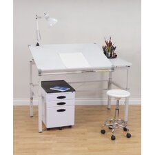 Graphix II Workstation Drafting Table with Pencil Tray