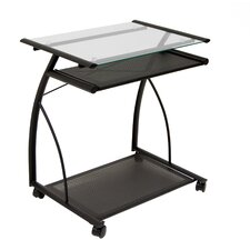 L Cart Computer Table