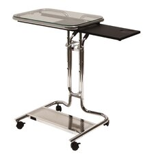 Adjustable Laptop Cart with Mouse Pad