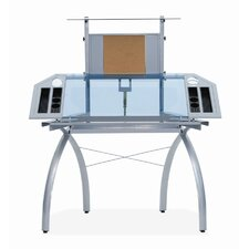 <strong>Studio Designs</strong> Futura Glass Tower Drafting Table