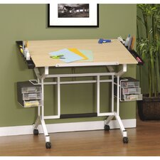 <strong>Studio Designs</strong> Pro Craft Station Wood Drafting Table