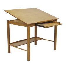 Americana II Tempered Glass Drafting Table