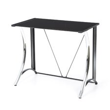 Calico Monterey Writing Desk with Black Glass