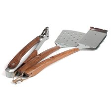 Vineyard Rosewood 3 Piece BBQ Tool