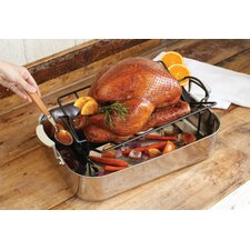 <strong>Charcoal Companion</strong> Non-Stick Roasting Rack with Juice Reservoir