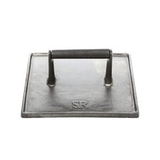 <strong>Charcoal Companion</strong> Steven Raichlen Cast Iron Double Wide Grill Press