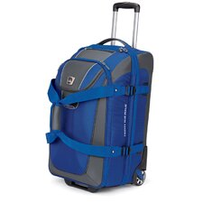 "ATGO 26"" 2-Wheeled Drop-Bottom Expandable Travel Duffel with Backpack Straps"