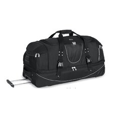 "<strong>High Sierra</strong> A.T Gear Ultimate Access 36"" 2-Wheeled Drop Bottom Travel Duffel with Backpack Straps"