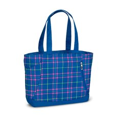 Shelby Prep Plaid Tote
