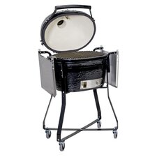 <strong>Primo Grills</strong> Stainless Steel Side Table for Extra Large Oval Grill or Kamado Grill