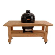 Cypress Table for Kamado Grill