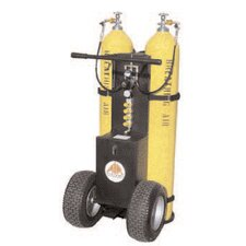 2-Bottle Air Cart 4500psi W/2-Outlet Manifold CGA-347 Hand-Tight Nuts W/Out Cylinders Must Specify Fittings When Ordering