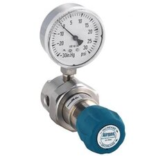 - 200 PSI Delivery Single Stage High-Purity Stainless Steel Pressure Line Regulator With 1250 PSI Maximum Rated Inlet Pressure And Threadless Seat Without CGA Fitting