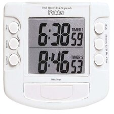 Dual Digital Kitchen Timer/Clock