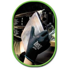 Zorb-IT® Blacklite Flat Dipped Sponge Nitrile Gloves With Nylon Liner
