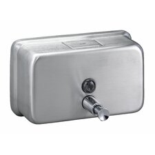 <strong>Bradley Corporation</strong> Surface-Mounted Horizontal Soap Dispenser