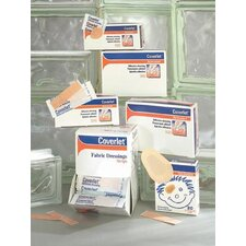 "X 3"" Coverlet® Fabric Adhesive Bandage Strips (100 Per Box)"