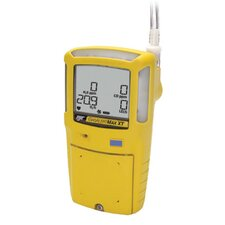XT Multi-Gas Detector For Combustible % LEL, Oxygen, Hydrogen Sulfide And Carbon Monoxide With Yellow Housing